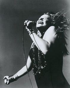Janis Joplin  Rock 'n roll's first female superstar. January 19, 1943 - October 4, 1970