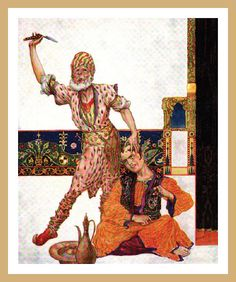 1915 Williy Pogany - Tales from the Arabian nights by carlylehold