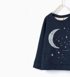 ZARA - KIDS - Shiny sweatshirt