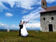 mara.zb / dvojvrstvové svadboné šaty Zuzi /biele/