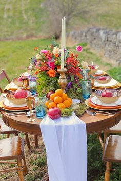 Rich and Colorful Bohemian Wedding Inspiration - http://fabyoubliss.com/2014/09/01/rich-and-colorful-bohemian-wedding-inspiration