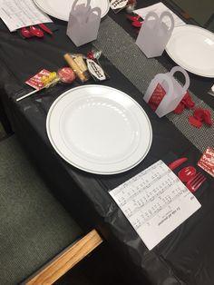 Pioneer school lunch set up