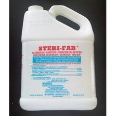 Steri Fab Gallon by Noble Pine Products. $42.39. Target pests: bed bugs and their eggs, lice, ticks, lice, fleas, dust mites, fungus, bacteria, mold, mildew and it deodorizes too! Application: Labeled for mattresses, upholstered furniture, carpets, and many other inanimate objects. Only apply to places mentioned on the label.. Pest Control Pros is an independent company and distributor of pest control products. Pest Control Pros can not warranty or guarantee the safety of the p...