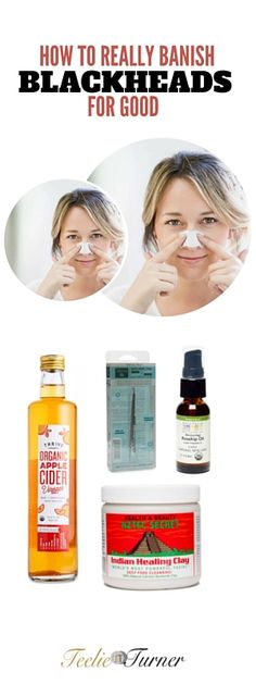 Why Pore Strips Don't Cut It How to Banish Blackheads for Good: www.teelieturner.com #skincare
