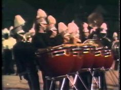 1978 Marching Southerners doing it old-school xD