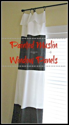 Muslin curtains for living room?