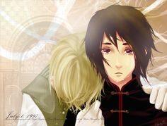 APH: Don't Leave Me by jinzilla.deviantart.com on @deviantART - Arthur and Ka Lung (head-canon name for Hong Kong) when sovereignty for Hong Kong was handed over from Britain to China on July 1, 1997. You know, this is rather true to fact on some levels - I'm not sure what the British stance on the actual issue was, but a lot of people in Hong Kong had come to love British rule and feared the unknowns ahead under the PRC.
