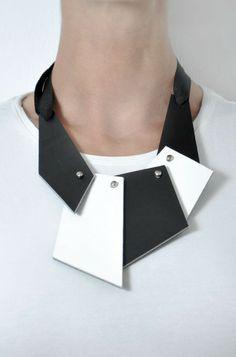 Aumorfia   puzzle   leather necklace
