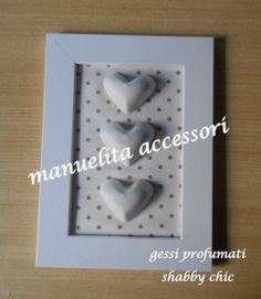 Manuelita Accessori: gessi profumati shabby chic