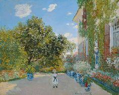La Maison de l'artiste à Argenteuil (C Monet - W 284) Chicago AI, 1873
