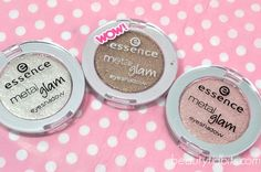 Essence Metal Glam Eyeshadows