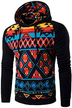 cd3eb23ccee6d jeansian Men s Fashion Casual Printing Hoodies Pullover Sweater Tops 88F5  at Amazon Men s Clothing store