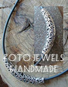 Μενταγιον ασημι φιλιγκρι με χοντρο καουτσουκ 10€ Bracelets, Silver, Jewelry, Pictures, Wels, Jewlery, Jewerly, Schmuck, Jewels