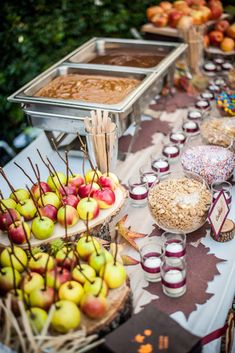 These wedding dessert bar ideas will take your unconventional wedding to the next level! A Donut Bar, S'mores Bar, and other wedding dessert bar ideas. Wedding Food Bars, Dessert Bar Wedding, Wedding Desserts, Wedding Catering, Dessert Table, Table Wedding, Wedding Foods, Wedding Reception, Wedding Menu