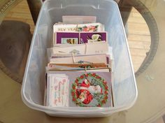 Huge LOT Vintage Postcards 248 Post Cards Box Antique postcards-Estate-ooo753 #HolidaysGreetingsPostCards