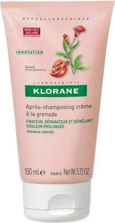 Klorane Conditioner with Pomegranate Μαλακτική Κρέμα για Βαμμένα Μαλλιά με Ρόδι Προστατεύει το Χρώμα από το Ξεθώριασμα 150ml. Μάθετε περισσότερα ΕΔΩ: https://www.pharm24.gr/index.php?main_page=product_info&products_id=2616