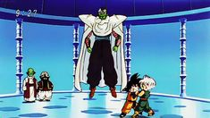Piccolo breaking up Goten and Trunks