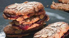 Chewy Almond-Raspber