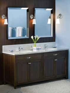 lighting and vanity