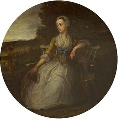 Sarah Tully (1708/1709–1736), Lady Hoare by Charles Philips (attributed to)