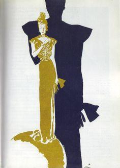 1938 - Vionnet dress by Gruau 4 Femina