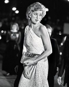 The images include the look of love she gave Harry, one of the only pictures there is of Diana and Elton John together, and a daring black dress in Princess Diana Photos, Princess Of Wales, Princess Diana Rare, Real Princess, Lady Diana Spencer, Diana Fashion, Royal Fashion, Charles And Diana, Royals
