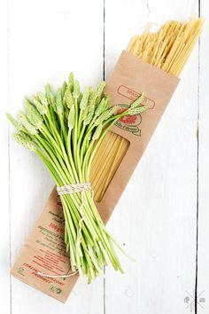 Spaghetti and Wild Asparagus | relleoMein