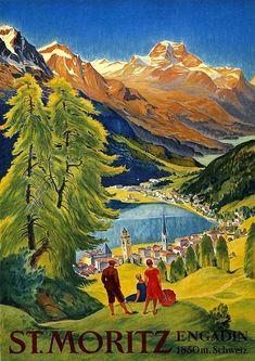 Vintage Ski Posters, Retro Poster, A4 Poster, Illustrations Vintage, Illustration Art, Tourism Poster, Travel Ads, Travel Photos, Kunst Poster