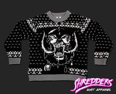 Killed By Death Knit Skull Sweater (PRE-ORDER)