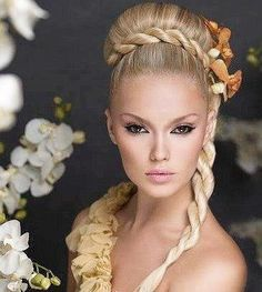 Roman Goddess Hairstyles | ... Tutorials and Inspiration / Modernised Roman Goddess hairstyle... Nice