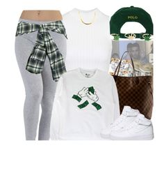 """11-13-15 money"" by no-flex-zone ❤ liked on Polyvore featuring Polo Ralph Lauren, Topshop, Allurez, Louis Vuitton, Faith Connexion and NIKE"