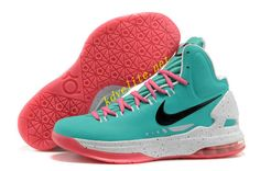 info for dd217 86148 Tiffany Blue Pink Nike Zoom KD V White 554988 401 Kevin Durant Shoes,  Chanel,