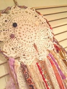 Dreamcatcher Handcrafted Eclectic Mix by wintergardendesign