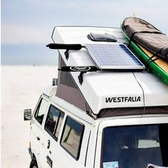 solar panel on vw camper
