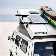 solar panel on vw camper