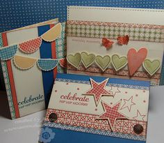 LOVE these!  Lighter and airier than those made with Kraft colors, though I love those, too.  One of the most versatile paper packs!