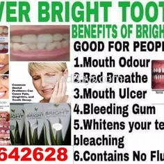 Bright toothpaste  is formulated to meet dental needs,  it contains the highest