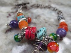 Ladies delicate Southwest colors and by Somethingissparkling, $20.00
