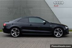 Used 2012 AUDI S5 S5 Quattro Black Edition 2dr S Tronic for sale in Leicestershire | Pistonheads
