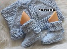 Ladies Cardigan Knitting Patterns, Knitted Baby Cardigan, Crochet Baby Booties, Baby Knitting Patterns, Knitting Stitches, Knitting Designs, Knitted Hats, Baby Shoes Pattern, Baby Sewing Projects