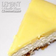 Lemony Vanilla Bean Cheesecake | Atkinson Drive