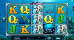Ariana slot has 5 reels and 25 paylines. It's provided by Microgaming, which means you can expect many interesting surprises such as free bonus spins, bonus game feature and a big jackpot of 2500 winning points. Add to this list impressive visuals and you will understand why this video slot is so great.