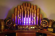 Steampunk Amplifier