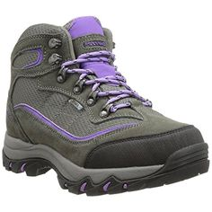 HiTec Skamania MidRise Waterproof Womens Hiking Boot GreyViola Medium 75 -- This is an Amazon Affiliate link. See this great product.