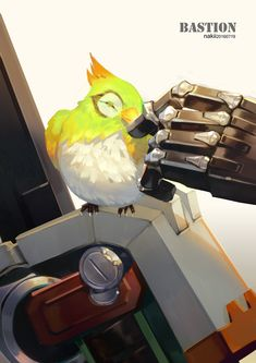 Overwatch - Bastion's Birdy