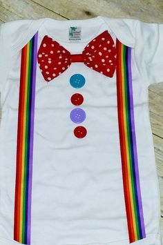First Birthday outfit Clown Birthday Outfit circus por RYLOwear