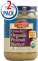 Arrowhead Mills Crunchy Organic Peanut Butter -- 16 oz Each / Pack of 2 - http://goodvibeorganics.com/arrowhead-mills-crunchy-organic-peanut-butter-16-oz-each-pack-of-2/