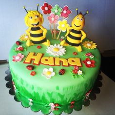 Maya the bee, birthday cake for girl