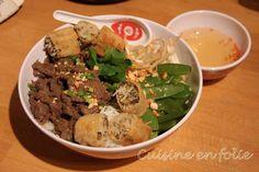 Bo Bun de Boeuf – Cuisine en Folie Bo Bun, Menu, Nouvel An, Ainsi, Blog, Pepper, Kitchens, Madness, Meal