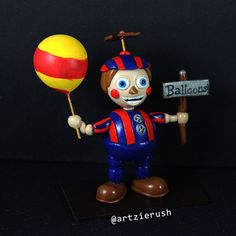 Balloon Boy Figurine from Five Nights at Freddy's by ArtzieRush